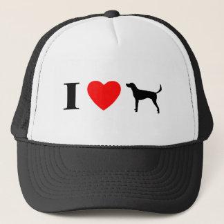 私はアメリカFoxhoundを愛します キャップ
