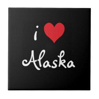 私はアラスカのタイルを愛します タイル