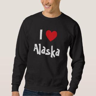 私はアラスカを愛します スウェットシャツ