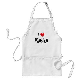 私はアラスカを愛します スタンダードエプロン