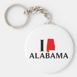 私はアラバマの国家を愛します キーホルダー