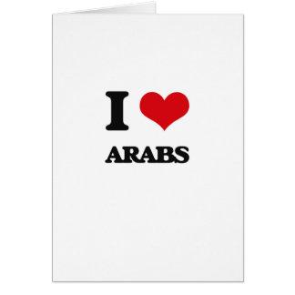 私はアラビア人を愛します カード