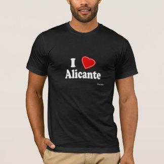 私はアリカンテを愛します Tシャツ