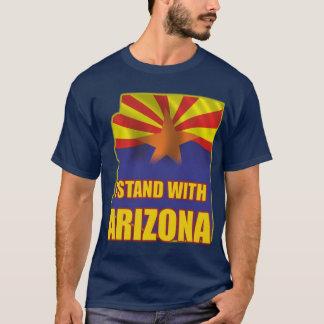 私はアリゾナと立ちます Tシャツ