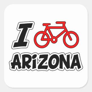 私はアリゾナを循環させることを愛します スクエアシール
