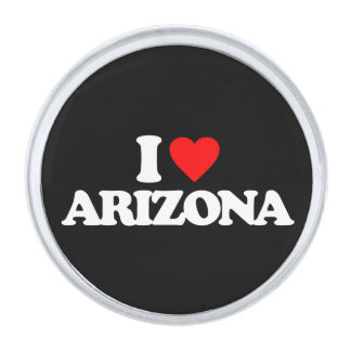 私はアリゾナを愛します シルバー ラペルピン