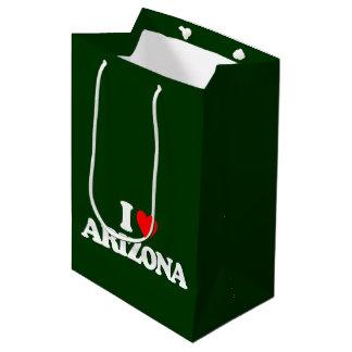 私はアリゾナを愛します ミディアムペーパーバッグ
