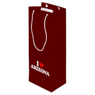 私はアリゾナを愛します ワインギフトバッグ