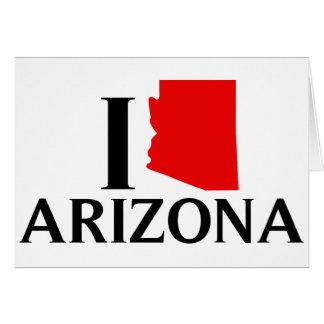 私はアリゾナ- I愛AZ --を愛します カード