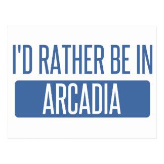 私はアルカディアにむしろあります ポストカード