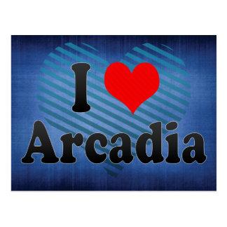 私はアルカディア、米国を愛します ポストカード