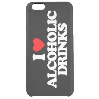 私はアルコール飲料を愛します クリア iPhone 6 PLUSケース