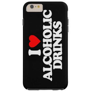私はアルコール飲料を愛します TOUGH iPhone 6 PLUS ケース