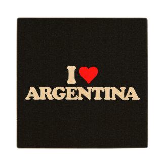 私はアルゼンチンを愛します ウッドコースター