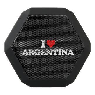 私はアルゼンチンを愛します ブラックBluetoothスピーカー