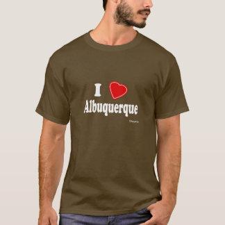 私はアルバカーキを愛します Tシャツ