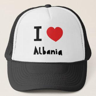 私はアルバニアを愛します キャップ