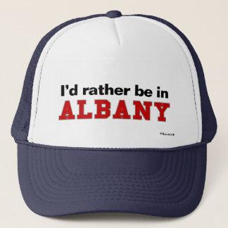 私はアルバニーにむしろいます キャップ