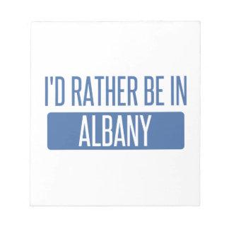 私はアルバニーGAにむしろいます ノートパッド