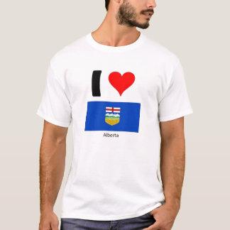 私はアルバータを愛します Tシャツ