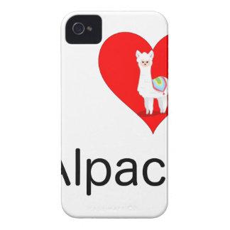 私はアルパカを愛します Case-Mate iPhone 4 ケース