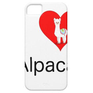 私はアルパカを愛します iPhone SE/5/5s ケース
