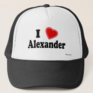 私はアレキサンダーを愛します キャップ