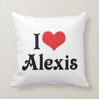 私はアレキシスを愛します クッション