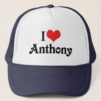 私はアンソニーを愛します キャップ