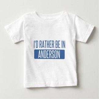 私はアンダーソンにむしろいます ベビーTシャツ
