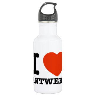 私はアントワープを愛します ウォーターボトル