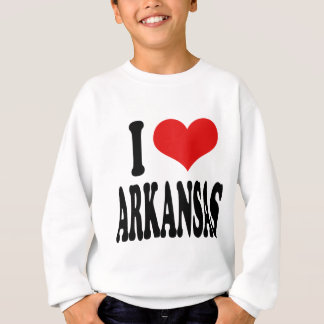 私はアーカンソーを愛します スウェットシャツ