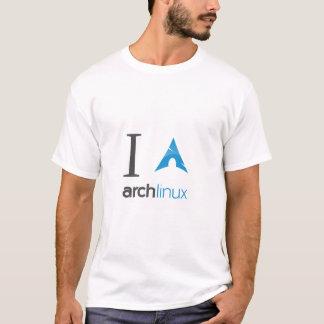 私はアーチのLinuxを愛します Tシャツ