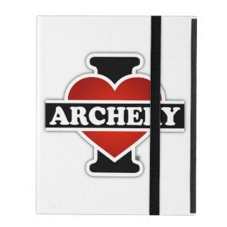 私はアーチェリーを愛します iPad ケース