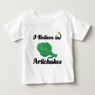 私はアーティチョークで信じます ベビーTシャツ