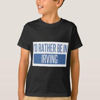 私はアービングにむしろいます Tシャツ