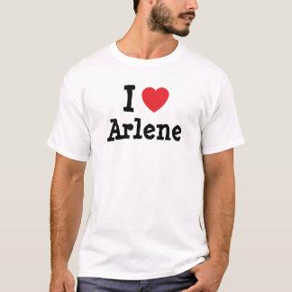 私はアーリーンのハートのTシャツを愛します Tシャツ