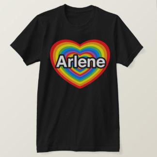 私はアーリーンを愛します。 私はアーリーン愛します。 ハート Tシャツ