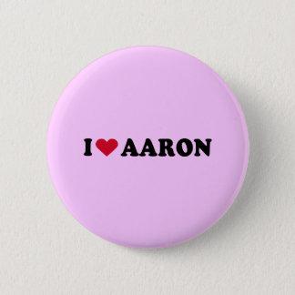 私はアーロンを愛します 缶バッジ