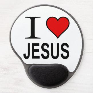 私はイエス・キリストのマウスパッドを愛します ジェルマウスパッド