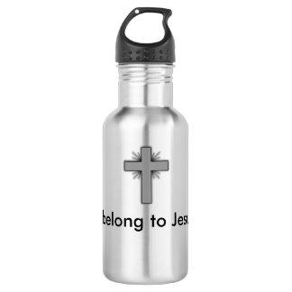 私はイエス・キリストの水差しに属します ウォーターボトル