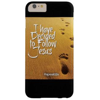 私はイエス・キリストを後を追うことにしました BARELY THERE iPhone 6 PLUS ケース