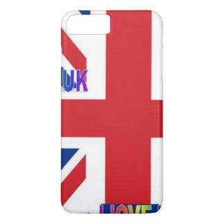 私はイギリスを愛します iPhone 8 PLUS/7 PLUSケース
