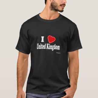 私はイギリスを愛します Tシャツ