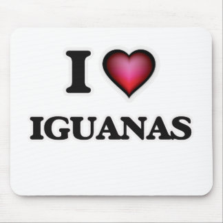 私はイグアナを愛します マウスパッド
