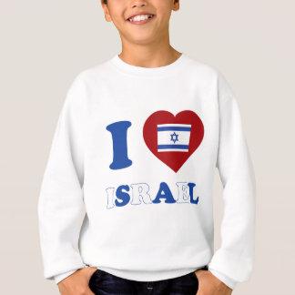私はイスラエル共和国を愛します スウェットシャツ