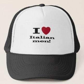 私はイタリアンな人を愛します キャップ