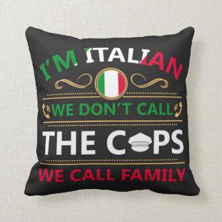 私はイタリアン私達呼びません警察官をです クッション