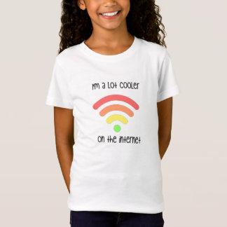 私はインターネットでよりクールです Tシャツ