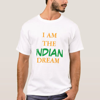 私はインドの夢です Tシャツ